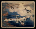1939 Gum Inc. World In Arms #13 A  French Torpedo Planes Escorting Giant Latecoere Front Thumbnail