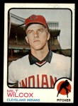 1973 Topps #134  Milt Wilcox  Front Thumbnail
