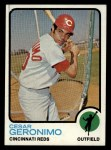 1973 Topps #156  Cesar Geronimo  Front Thumbnail
