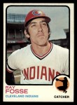1973 Topps #226  Ray Fosse  Front Thumbnail