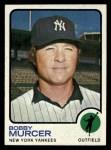 1973 Topps #240  Bobby Murcer  Front Thumbnail