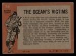 1965 Topps Battle #16   The Ocean's Victims  Back Thumbnail