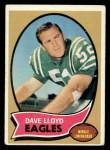 1970 Topps #21  Dave Lloyd  Front Thumbnail