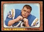 1966 Topps #126  Walt Sweeney  Front Thumbnail