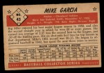 1953 Bowman #43  Mike Garcia  Back Thumbnail