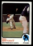 1973 Topps #298  Ron Bryant  Front Thumbnail