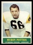 1964 Philadelphia #149  Myron Pottios  Front Thumbnail