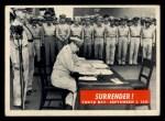 1965 Philadelphia War Bulletin #87   Surrender! Front Thumbnail