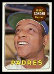1969 Topps #617  Jesse Gonder  Front Thumbnail