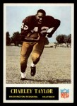 1965 Philadelphia #195  Charley Taylor  Front Thumbnail