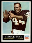 1965 Philadelphia #109  George Rose   Front Thumbnail