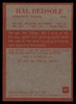 1965 Philadelphia #101  Hal Bedsole   Back Thumbnail