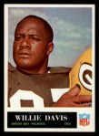 1965 Philadelphia #73  Willie Davis  Front Thumbnail
