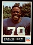 1965 Philadelphia #115  Roosevelt Brown  Front Thumbnail