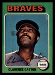 1975 Topps Mini #427  Cito Gaston  Front Thumbnail