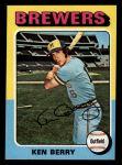 1975 Topps Mini #432  Ken Berry  Front Thumbnail