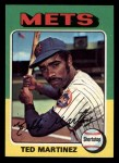 1975 Topps Mini #637  Ted Martinez  Front Thumbnail