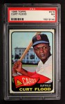 1965 Topps #415  Curt Flood  Front Thumbnail