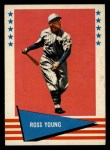 1961 Fleer #154  Ross Young  Front Thumbnail