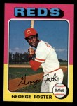 1975 Topps Mini #87  George Foster  Front Thumbnail