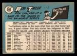 1965 Topps #568  Ron Taylor  Back Thumbnail