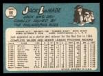 1965 Topps #88  Jack Lamabe  Back Thumbnail