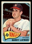 1965 Topps #307  Barry Latman  Front Thumbnail