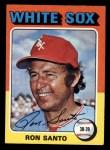 1975 Topps Mini #35  Ron Santo  Front Thumbnail