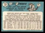 1965 Topps #239  Doc Edwards  Back Thumbnail