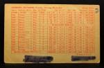 1963 Exhibits Stat Back  Ray Herbert  Back Thumbnail