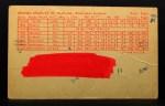 1963 Exhibits Stat Back  Chuck Hinton  Back Thumbnail