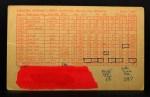 1963 Exhibits Stat Back  Norm Siebern  Back Thumbnail