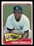 1965 Topps #97  Pedro Gonzalez  Front Thumbnail
