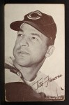 1962 Exhibit Stat Back #13  Tito Francona  Front Thumbnail