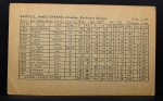 1962 Exhibit Stat Back #14  Jim Gentile  Back Thumbnail