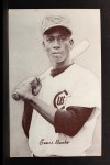 1947 Exhibits BLK Ernie Banks   Front Thumbnail