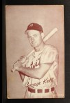 1947 Exhibits  George Kell  Front Thumbnail