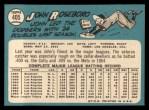 1965 Topps #405  John Roseboro  Back Thumbnail