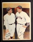 1936 Pastel Photos (R312) #32  Buckey Harris / Joe Cronin  Front Thumbnail