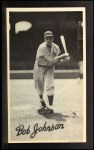 1936 Goudey Wide Pen  Bob Johnson  Front Thumbnail