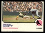 1973 Topps #263  George Scott  Front Thumbnail