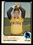 1973 Topps #182  Mike Caldwell  Front Thumbnail