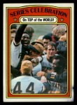 1972 Topps #230  Manny Sanguillen / Luke Walker / Gene Clines 1971 World Series - Summary - Pirates Celebrate Front Thumbnail