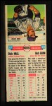 1955 Topps Double Header #57 #58 Dick Hall / Bob Grim  Back Thumbnail