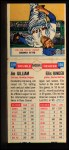 1955 Topps Double Header #129 #130 Jim Gilliam / Ellis Kinder  Back Thumbnail