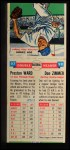 1955 Topps DoubleHeader #97 #98 Preston Ward / Don Zimmer  Back Thumbnail