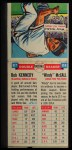 1955 Topps Double Header #87 #88 Bob Kennedy / Windy McCall  Back Thumbnail