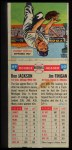 1955 Topps Double Header #49 #50 Ron Jackson / Jim Finigan  Back Thumbnail