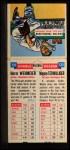 1955 Topps Double Header #131 #132 Herm Wehmeier / Wayne Terwilliger  Back Thumbnail