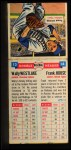 1955 Topps Double Header #13 #14 Wally Westlake / Frank House  Back Thumbnail